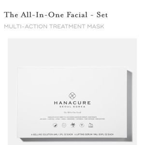"""NWOT! Hanacure """"The All- In- One Facial Set."""